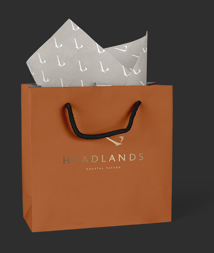 Headlands Takeout Bag Design