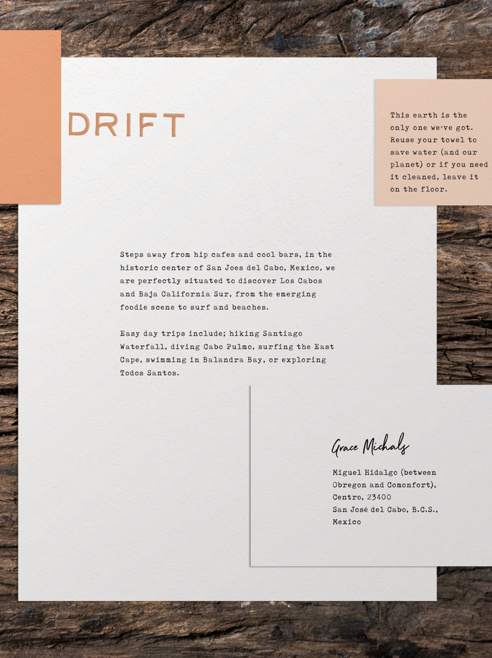 Drift Note Stationery