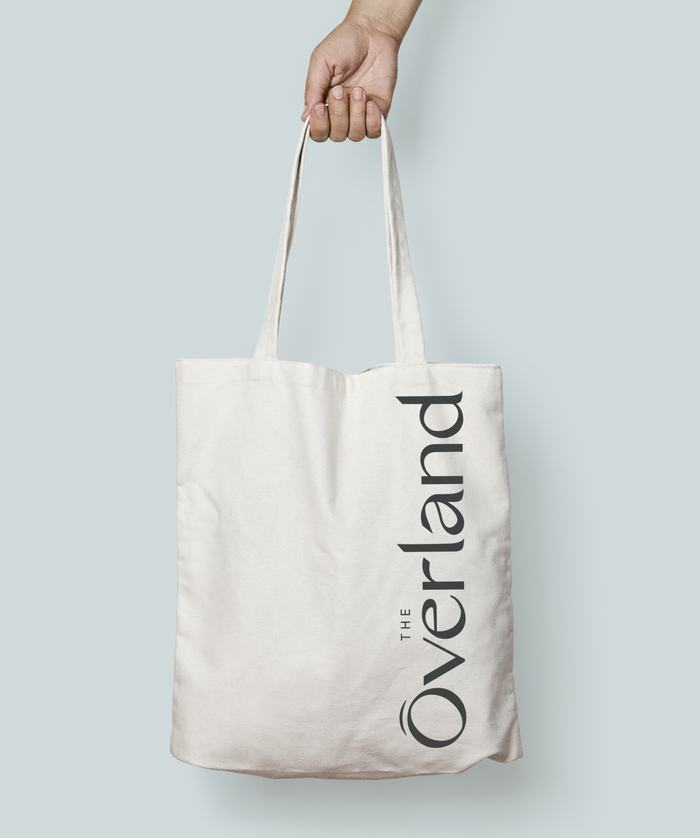 The Overland branded tote