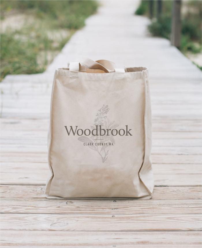 Woodbrook tote bag