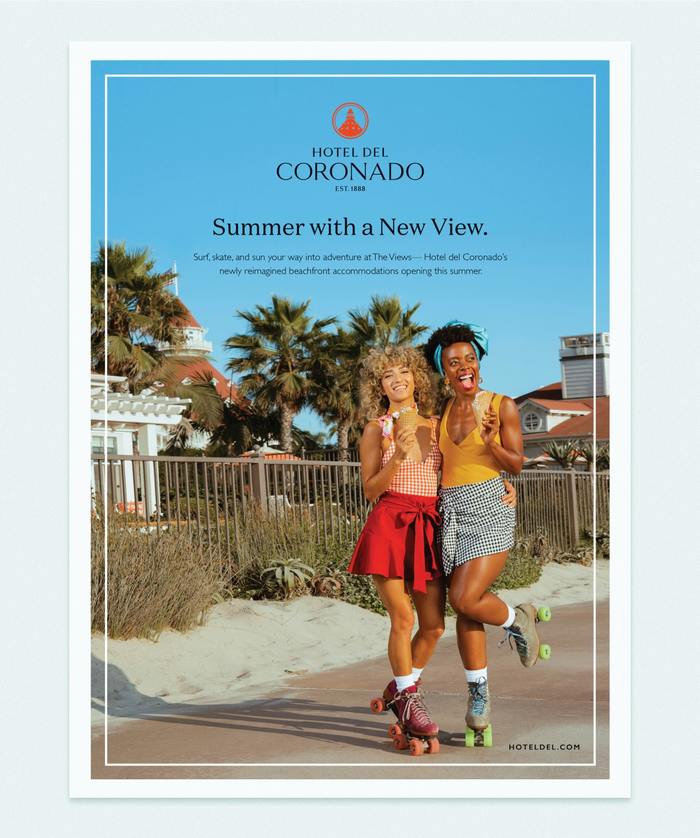 Summer with a New View Advertisement