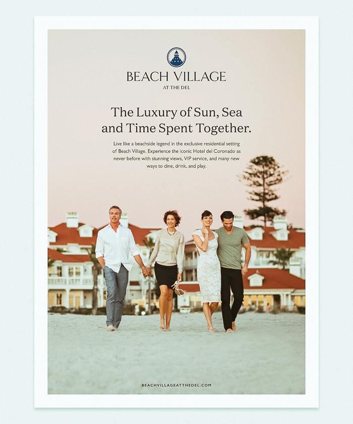 Beach Village Ad