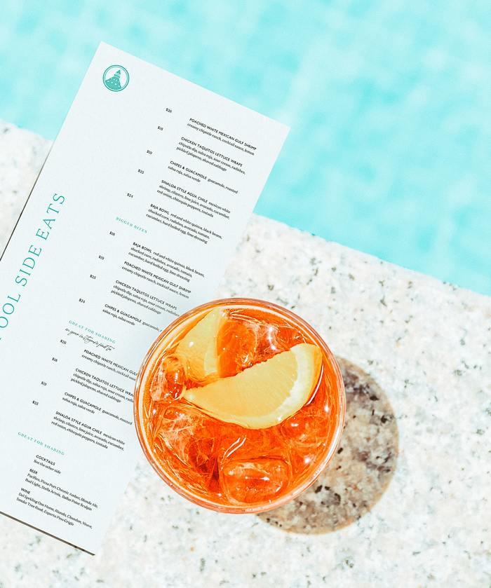 Shore House Cocktail Menu