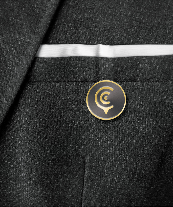 Curator Hotel & Resort Collection Lapel Pin
